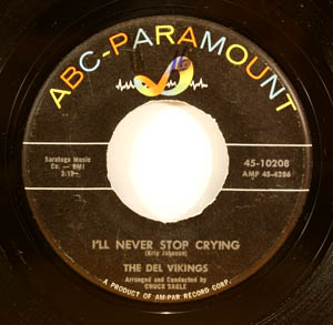 ABC 10208 Orig, Bring Back Your Heart b/w I'll Never Stop Crying  (Condition: VG++) ...